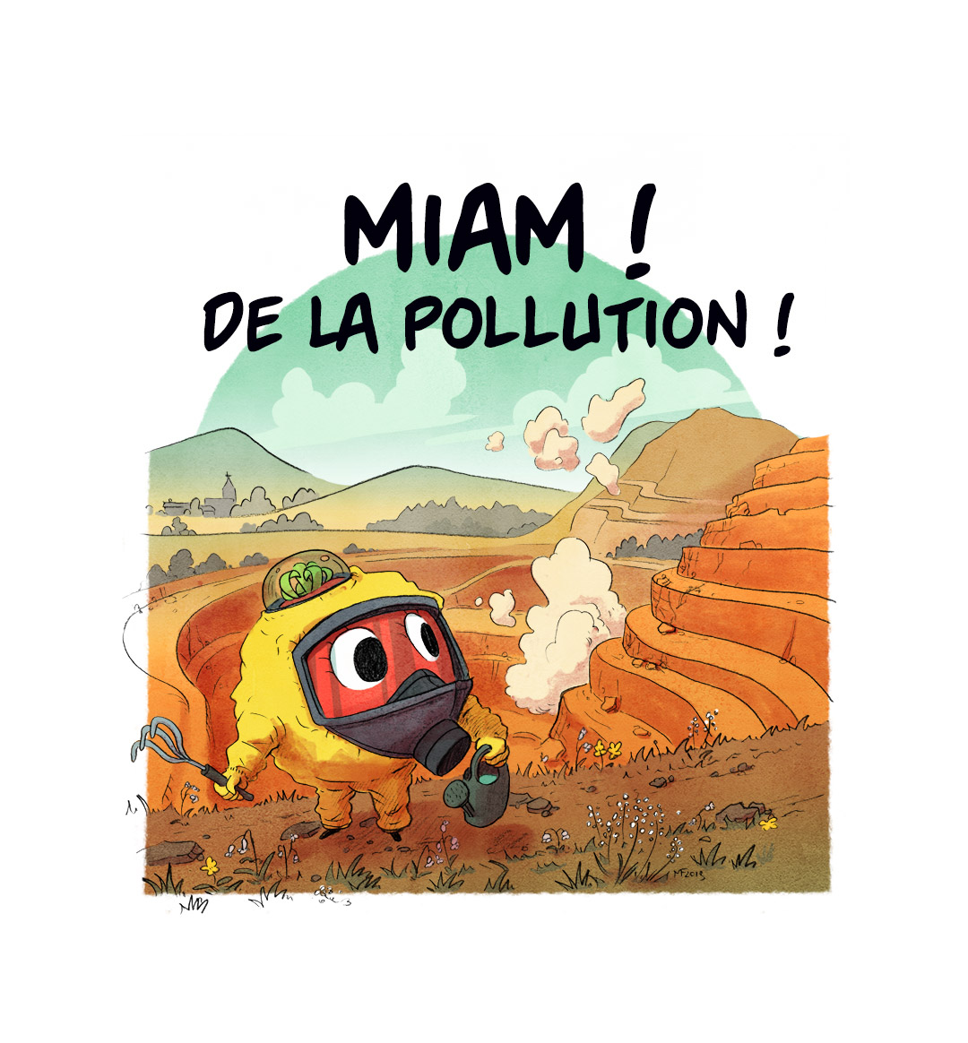 Épisode 8 : miam ! de la pollution