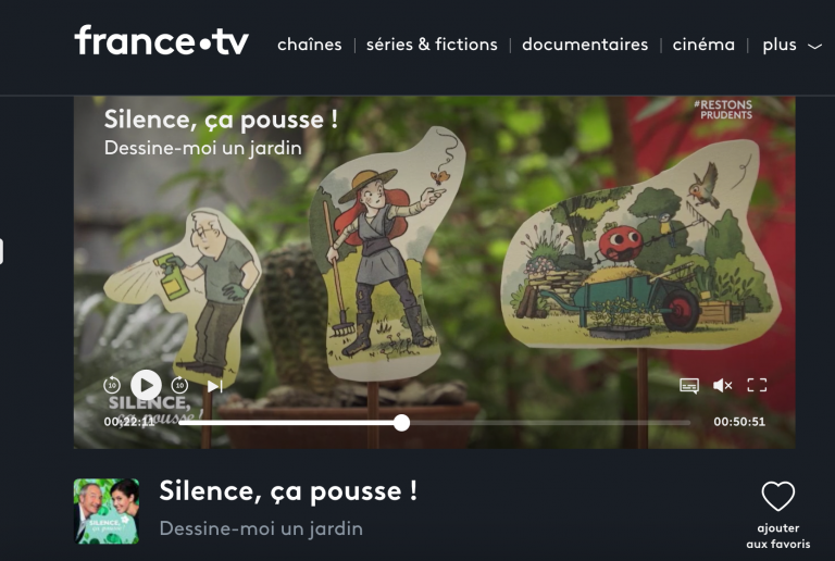 La folle histoire des plantes à la télé !